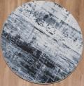 Waiko Grey Circle Rug