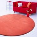 Comfort Coral Circle Rug