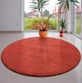 Comfort Peach Circle Rug