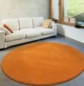Comfort Pumpkin Circle Rug