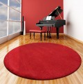 Comfort Scarlet Circle Rug