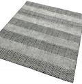 Ives Grey Stripes Rug