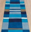 Blue Blocks Runner