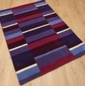 Purple Blocks Rug