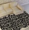 Leopard Black Rug