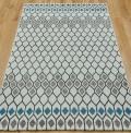 Samos Grey Blue Rug