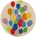 Balloons Circle Rug