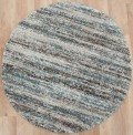 Equator Teal Circle Rug