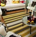 Mood Stripes Gold Rug