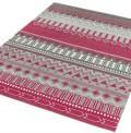 Tribal Stripes Berry Rug