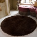 Pearl Chocolate Circle Rug
