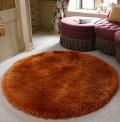Pearl Ginger Mix Circle Rug