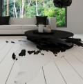 Pelle Black White Rug