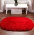 Rainbow Red Rug