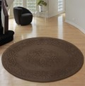 Royale Choco Circle Rug