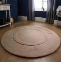 Apollo Beige Circle Rug