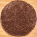 Starlet Mocha Circle Rug