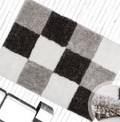 Cubist Silver Rug