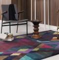 Mosaic Deep Purple Rug