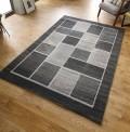 Visiona Squares Grey Rug