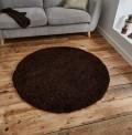 Vista Brown Circle Rug
