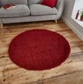 Vista Red Circle Rug