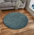 Vista Blue Circle Rug