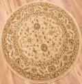 Raya Beige Circle Rug